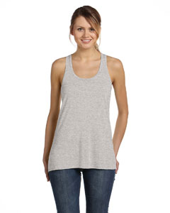 Athletic Heather Women's Flowy Racerback Tank