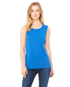 True Royal Ladies' Flowy Scoop Muscle Tank