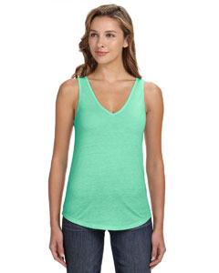 Mint Women's Flowy V-Neck Tank