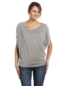 Athletic Heather Women's Flowy Circle Top