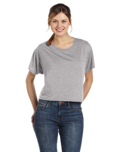 Athletic Heather Women's Flowy Boxy T-Shirt