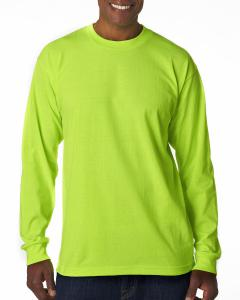 Lime Green Adult Long-Sleeve T-Shirt