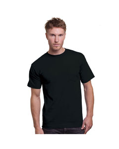 Black Adult Union Made Pocket Tee