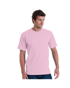 Pink Adult 5.4 oz. 100% Cotton T-Shirt