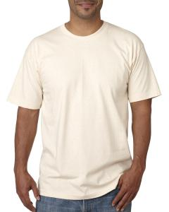 Natural Adult 5.4 oz. 100% Cotton T-Shirt