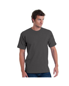 Charcoal Adult 5.4 oz. 100% Cotton T-Shirt