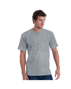 Dark Ash Adult 5.4 oz. 100% Cotton T-Shirt