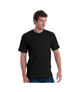 Black Adult Basic Tee