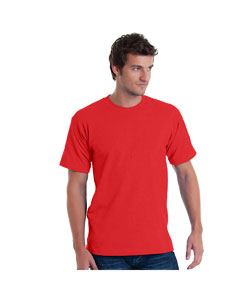 Red Adult 5.4 oz. 100% Cotton T-Shirt