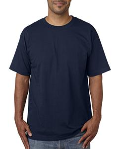 Dark Navy Adult 5.4 oz. 100% Cotton T-Shirt