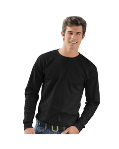 Black Adult Long-Sleeve T-Shirt