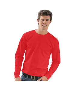 Red Adult Long-Sleeve T-Shirt