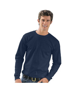 Navy Adult Long-Sleeve T-Shirt