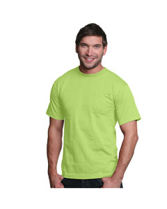 Lime Adult Pocket Tee
