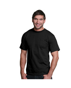 Black Adult Pocket Tee