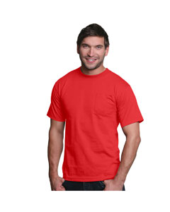 Red Adult Pocket Tee