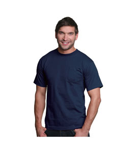 Navy Adult Pocket Tee