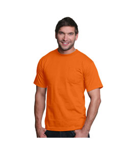 Bright Orange Adult Pocket Tee