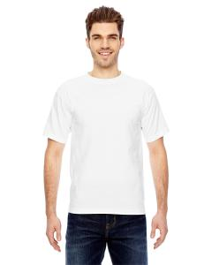 White Adult 6.1 oz., 100 Cotton T-Shirt