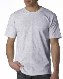 Ash Adult 6.1 oz. 100% Cotton T-Shirt