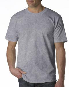 Dark Ash Adult 6.1 oz. 100% Cotton T-Shirt
