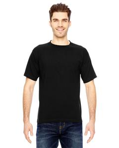 Black Adult 6.1 oz., 100 Cotton T-Shirt