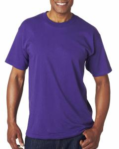 Purple Adult 6.1 oz. 100% Cotton T-Shirt