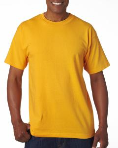 Gold Adult 6.1 oz., 100 Cotton T-Shirt