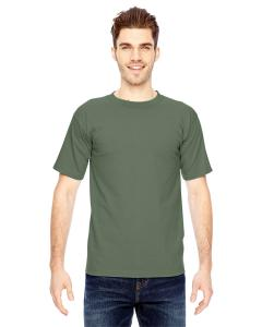 Army Green Adult 6.1 oz. 100% Cotton T-Shirt