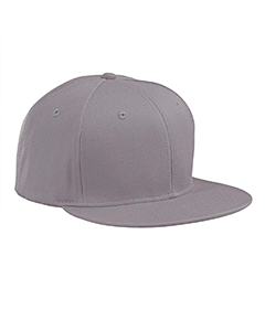 Grey Flat Bill Cap