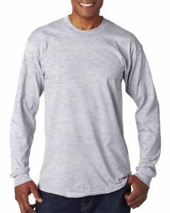 Ash Adult 6.1 oz., 100 Cotton Long Sleeve T-Shirt
