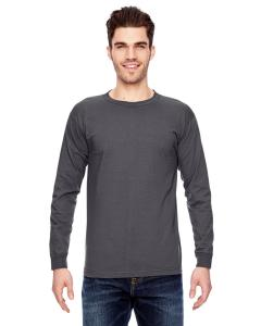 Charcoal Adult 6.1 oz., 100 Cotton Long Sleeve T-Shirt