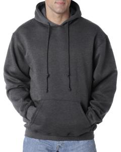 Charcoal Hthr Adult 9.5 oz. 80/20 Pullover Hooded Sweatshirt