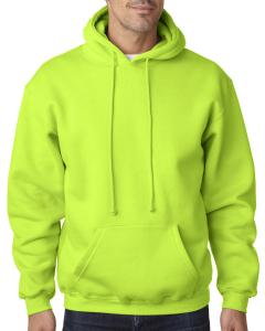 Lime Green Adult 9.5 oz. 80/20 Pullover Hooded Sweatshirt