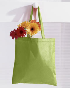 Lime 8 oz. Canvas Tote