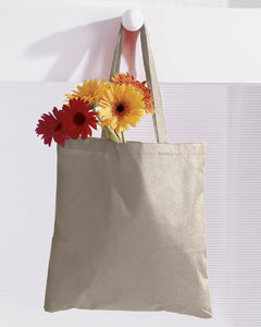 Natural 8 oz. Canvas Tote