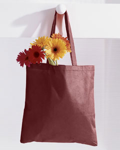 Maroon 8 oz. Canvas Tote