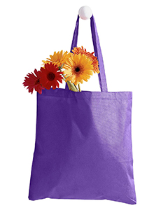 Purple 8 oz. Canvas Tote