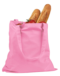 Pink 6 oz. Canvas Promo Tote