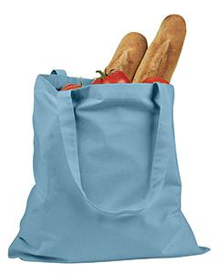 Sky Blue 6 oz. Canvas Promo Tote