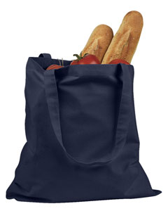 Navy 6 oz. Canvas Promo Tote