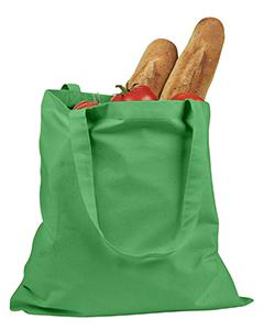 Kelly Green 6 oz. Canvas Promo Tote