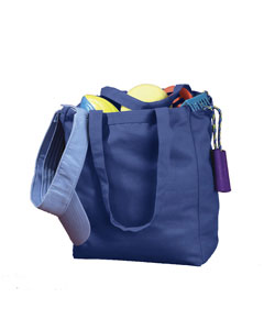 Royal 12 oz. Canvas Book Tote