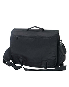 Black Modern Tech Briefcase