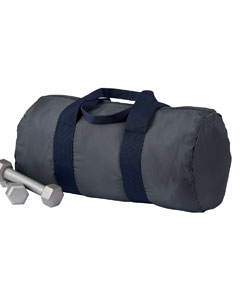 Grey/navy Packable Duffel