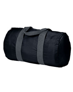 Black/grey Packable Duffel