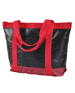 Black/ Red All-Weather Tote