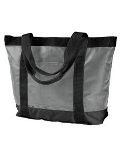 Grey/ Black All-Weather Tote