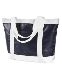 Navy/ White All-Weather Tote