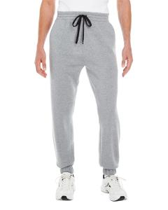 Heather Grey Adult Fleece Jogger Pant
